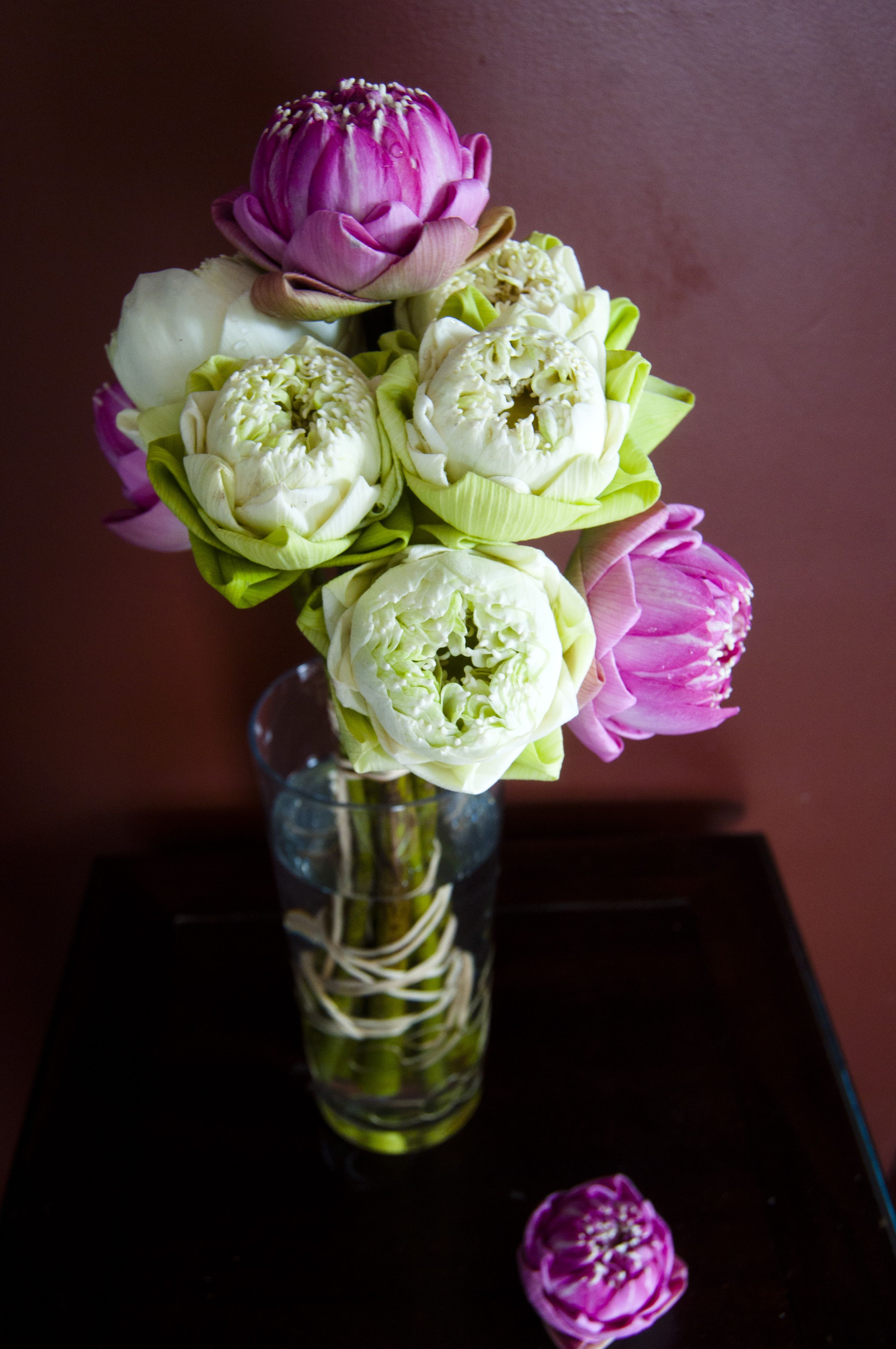 Lotus flower bouquet 3 3 3 3 3 wedding pinterest lotus lotus flower bouquet 3 3 3 3 3 izmirmasajfo