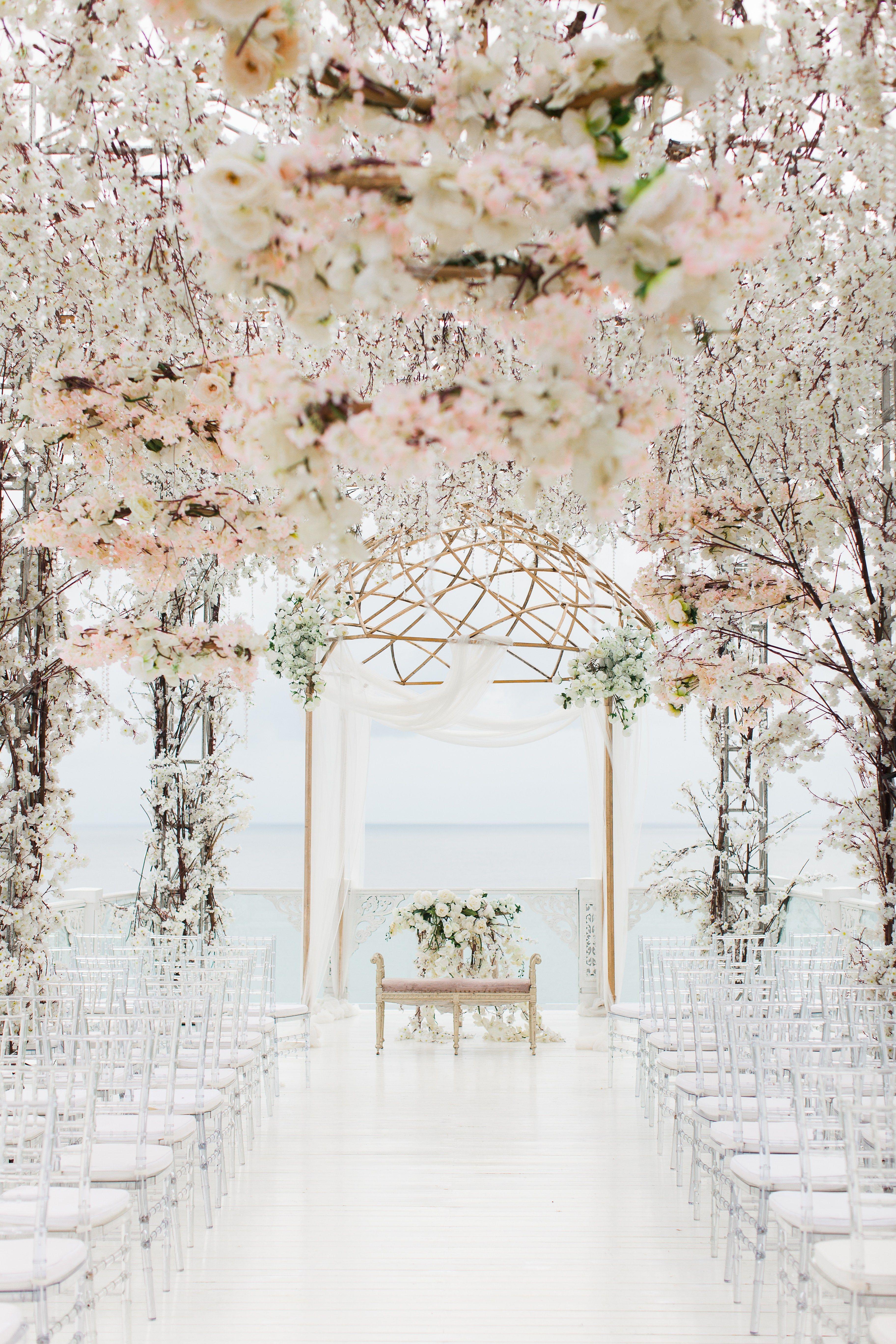 Gorgeous Wedding Ceremony Ideas | Pretty Wedding Aisle Photos ...