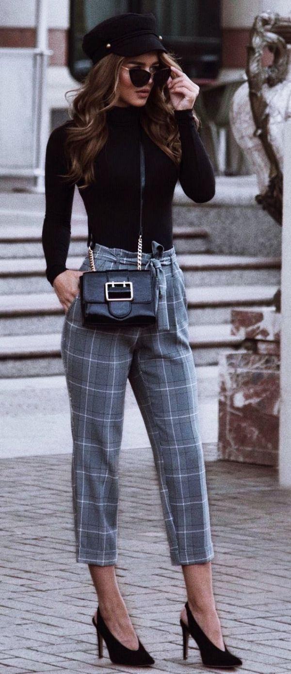 49 Winter Casual Work Outfits, in die Sie sich verlieben werden #casualfalloutfits