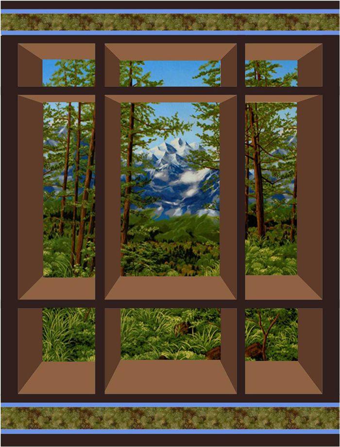 Window On The East Quilt Pattern CS40 Quilt Patterns Pinterest New Attic Window Quilt Pattern