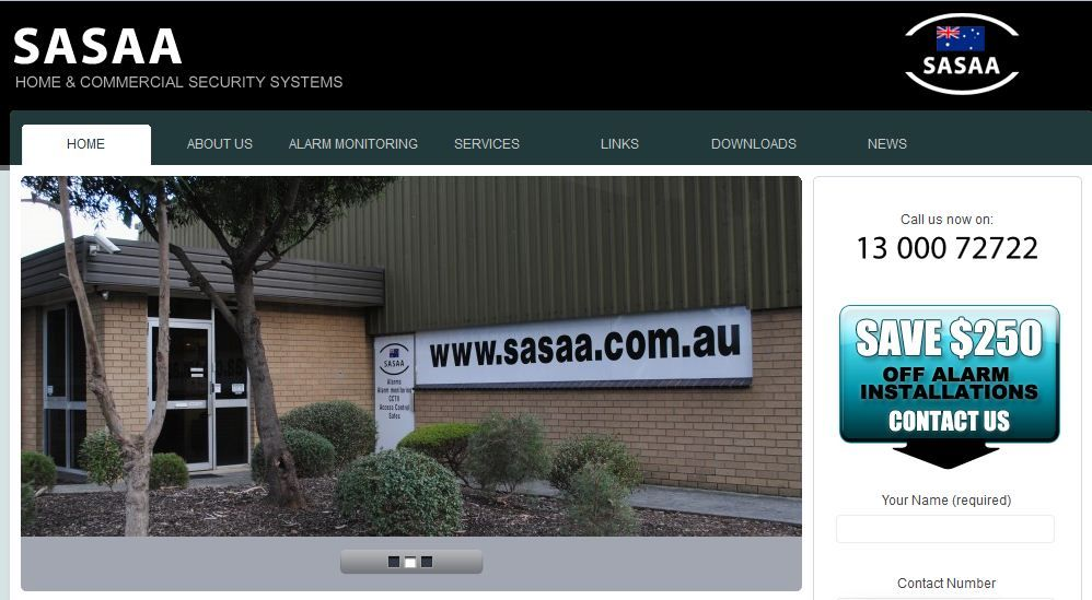 http://www.sasaa.com.au/ SASAA supply and install home & commercial Security Systems, CCTV Cameras, Alarm Systems and provide Alarm Monitoring for residential and commercial clients. We also have a wide range of top quality safes.