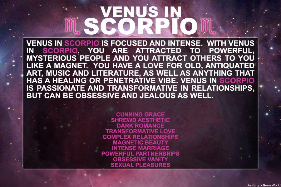 VENUS IN SCORPIO this is my venus placement it can