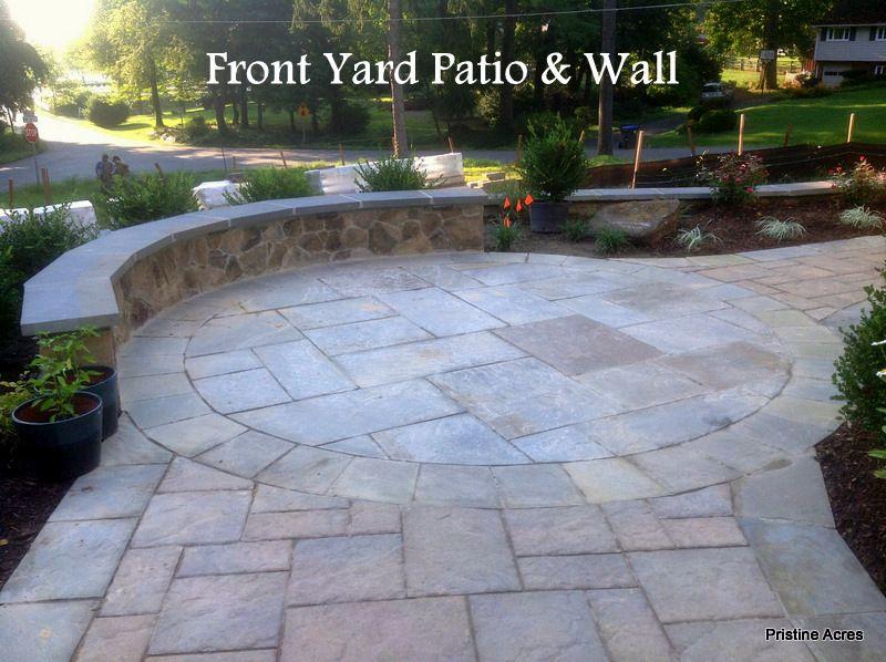 wall front yard patio   garden living   pinterest   front yard ... - Front Yard Patio Ideas