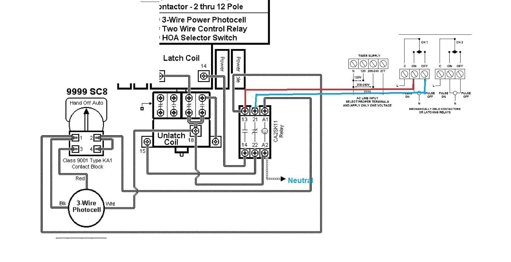 277 Volt Contactor Wiring Diagram