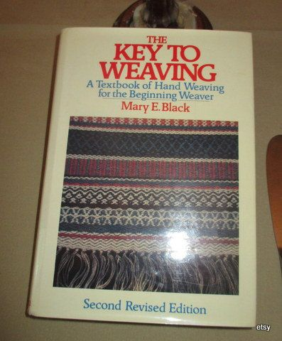 Weaving  The Key To Weaving   Mary E. Black by marthaweaves