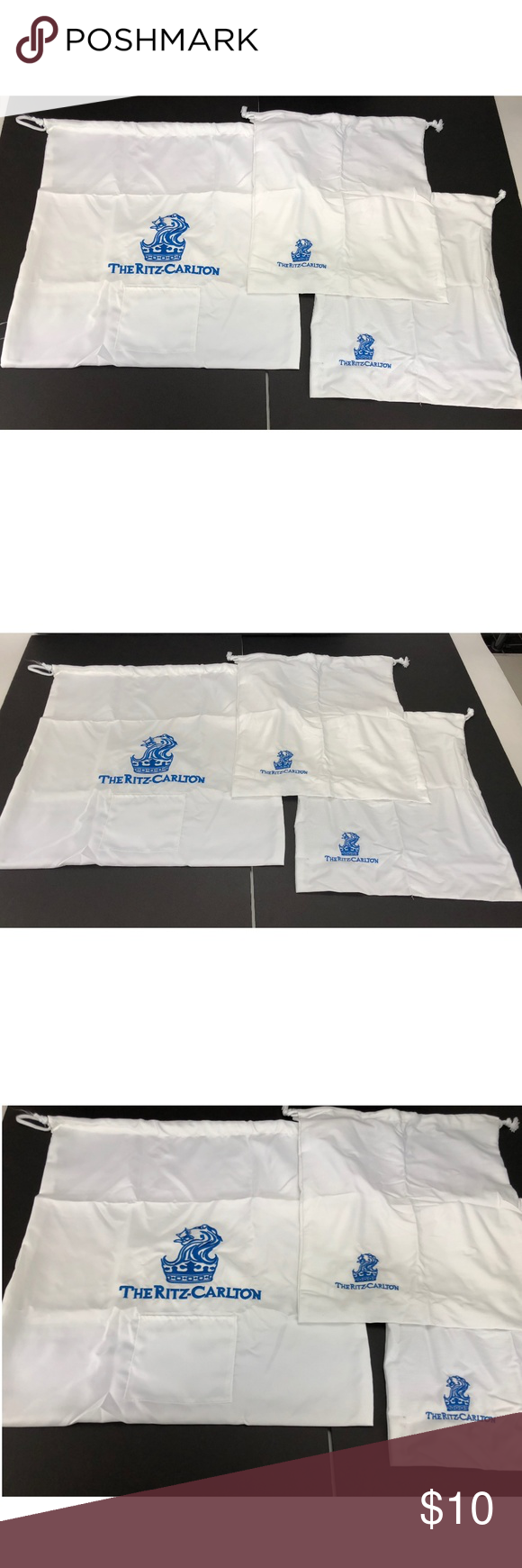 Ritz Carlton Hotel Drawstring Shoe And Laundry Bag With Images