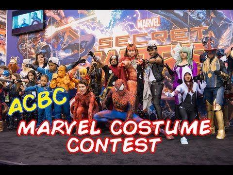 ACBC Marvel Costume Contest - YouTube