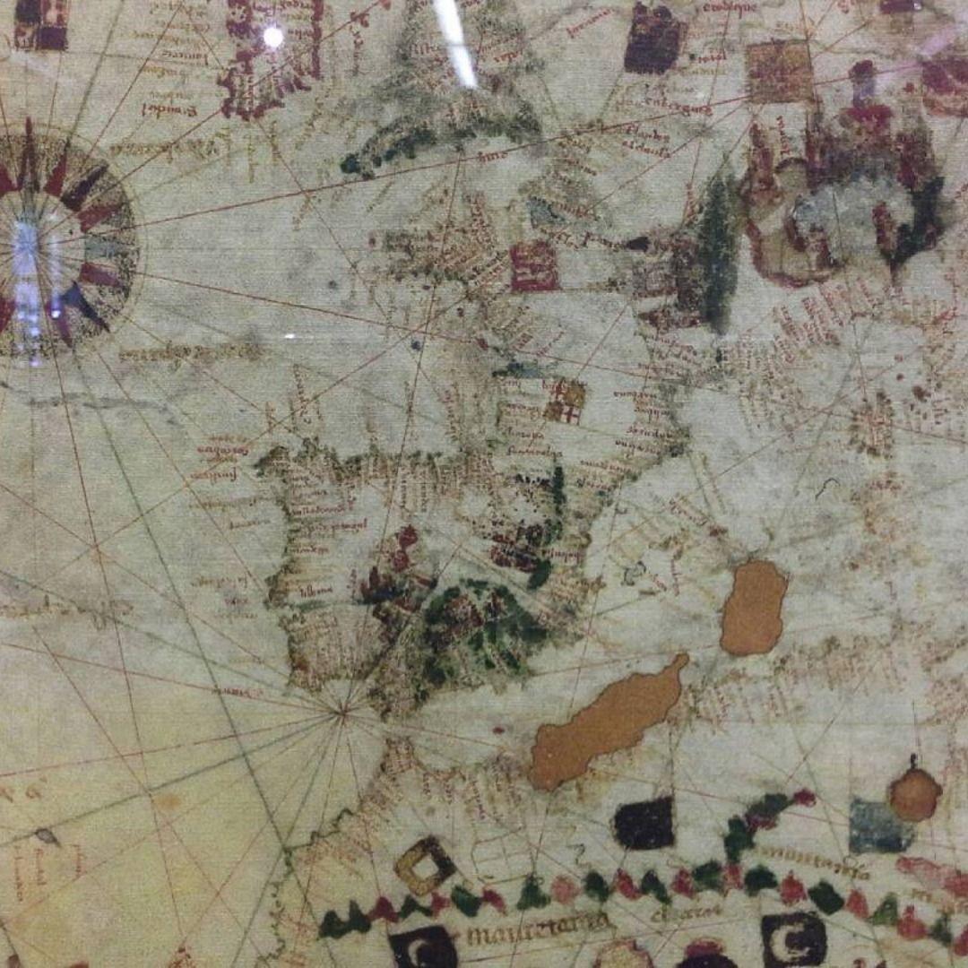 Carta Universal 1500 Cartografico Mapas Antiguos Cartografia