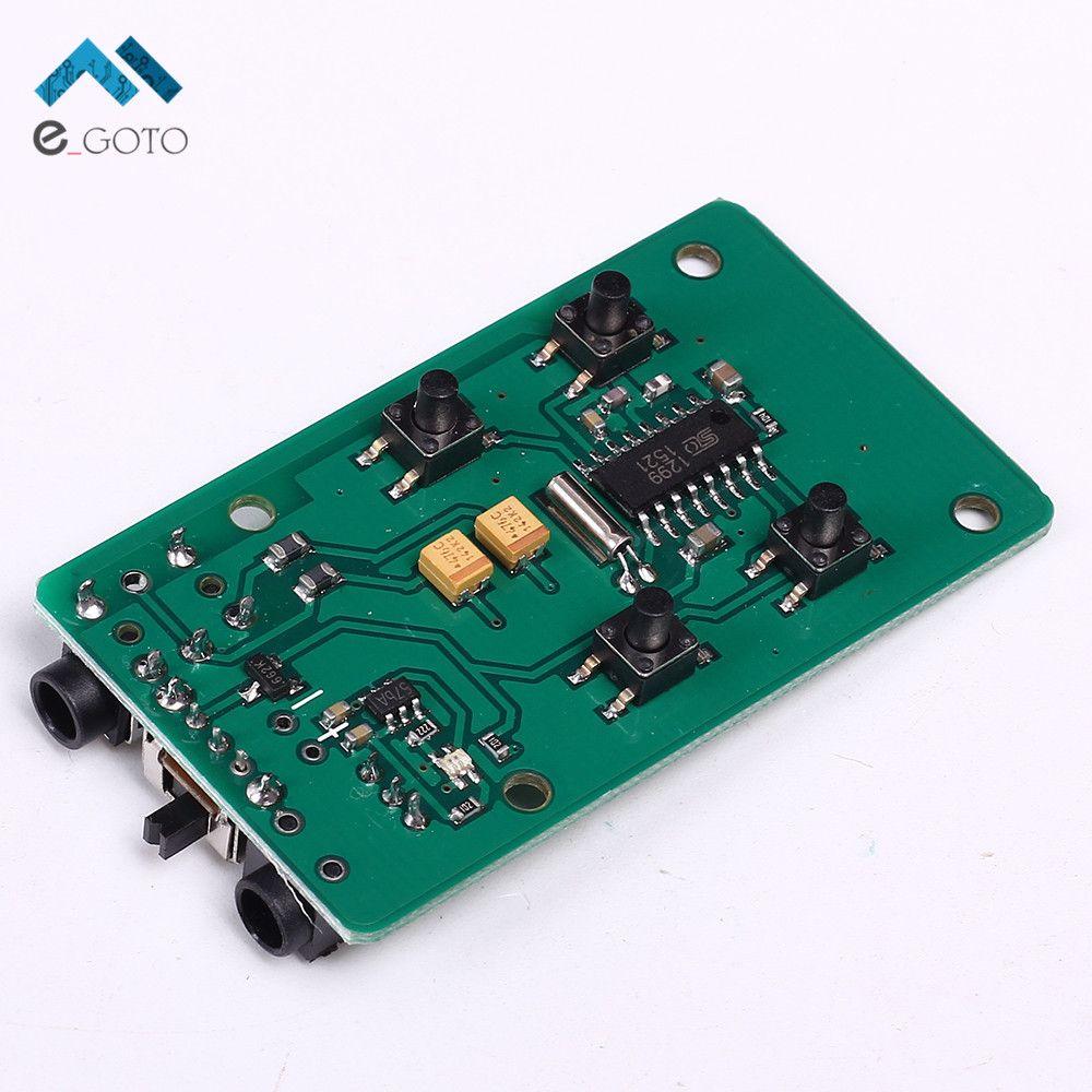 76 108mhz Fm Transmitter Wireless Microphone Radio Frequency Circuit Board Modulation Pcb Module Key Control 37