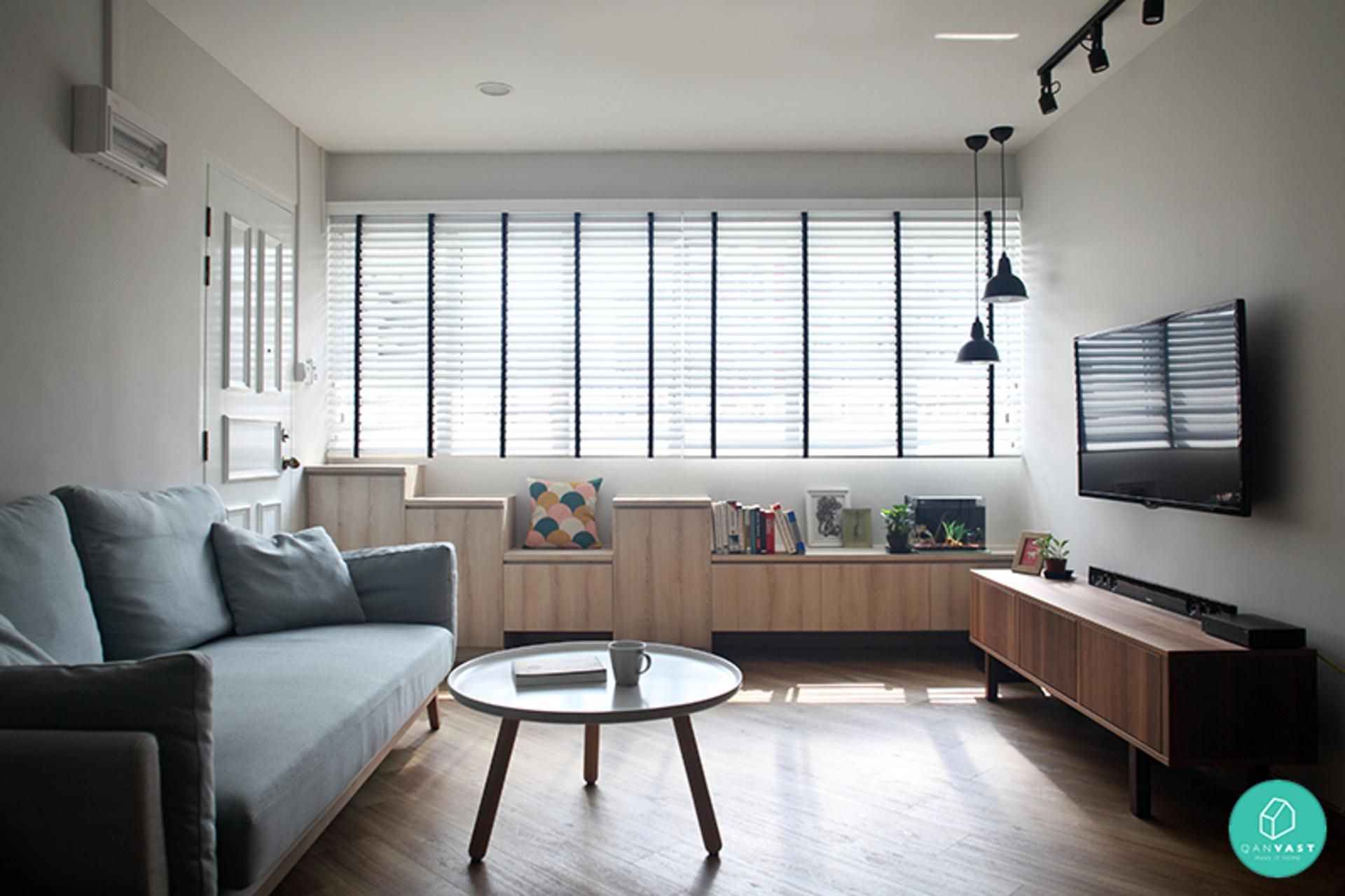 Maximise space in your small home with these 4 easy handy steps.