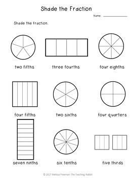 Fractions Unit for Grade 3 (Ontario Curriculum) Ontario