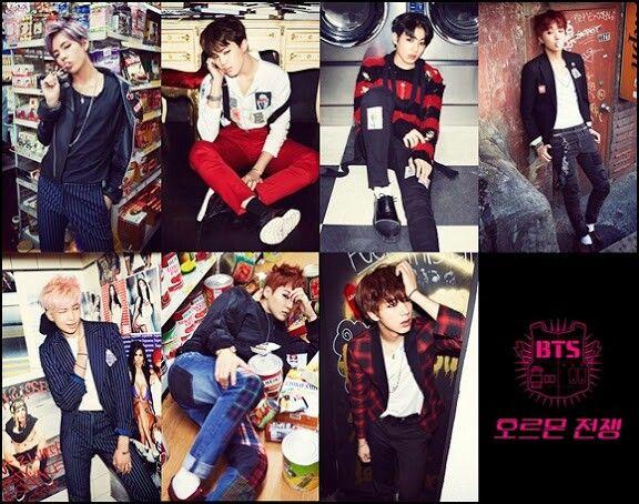 "BTS releases new concept photos for ""Hormone War"" (호르몬전쟁) ♥"
