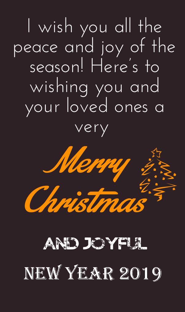 merry christmas and happy new year quotes 2019