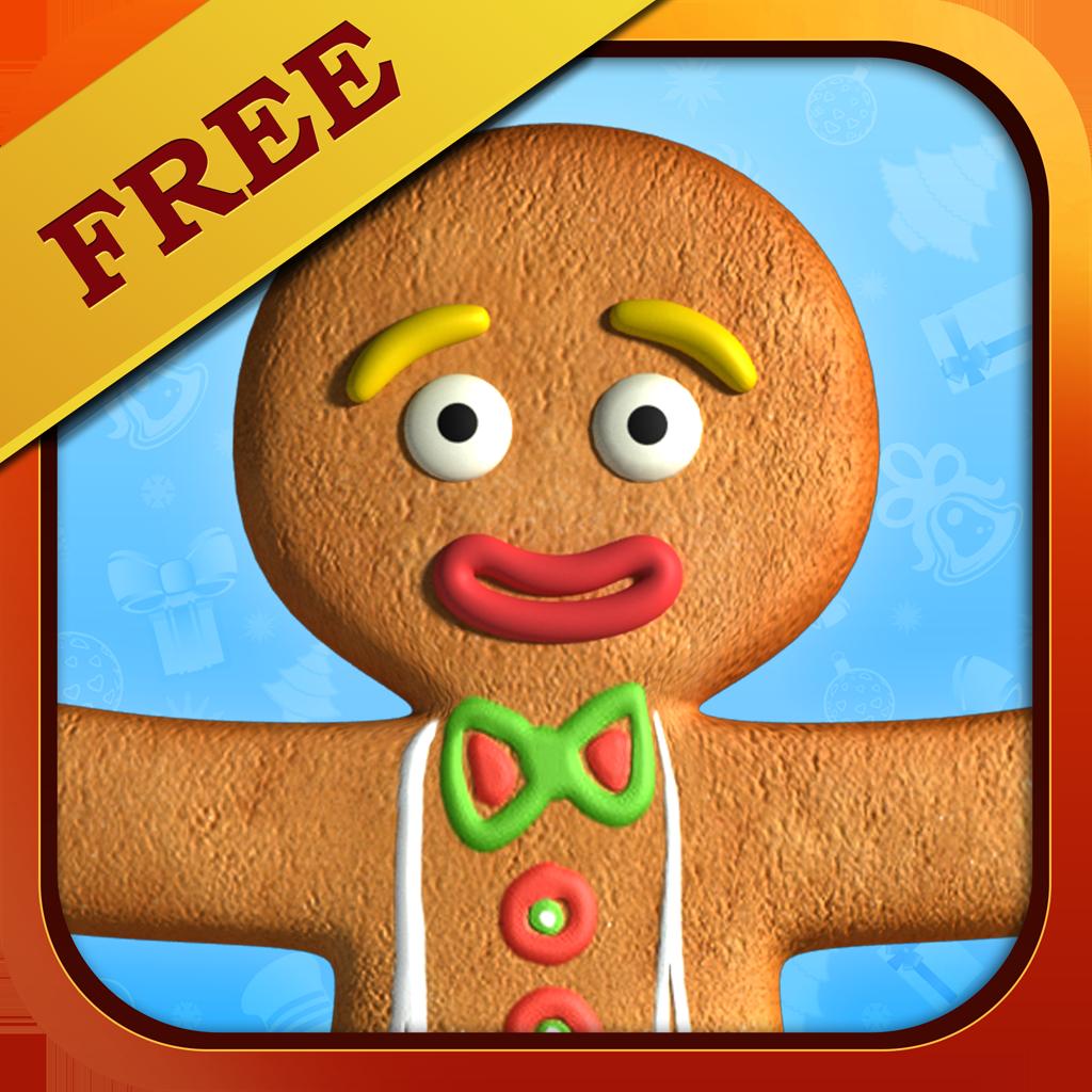 Talking Gingerbread Man App Review