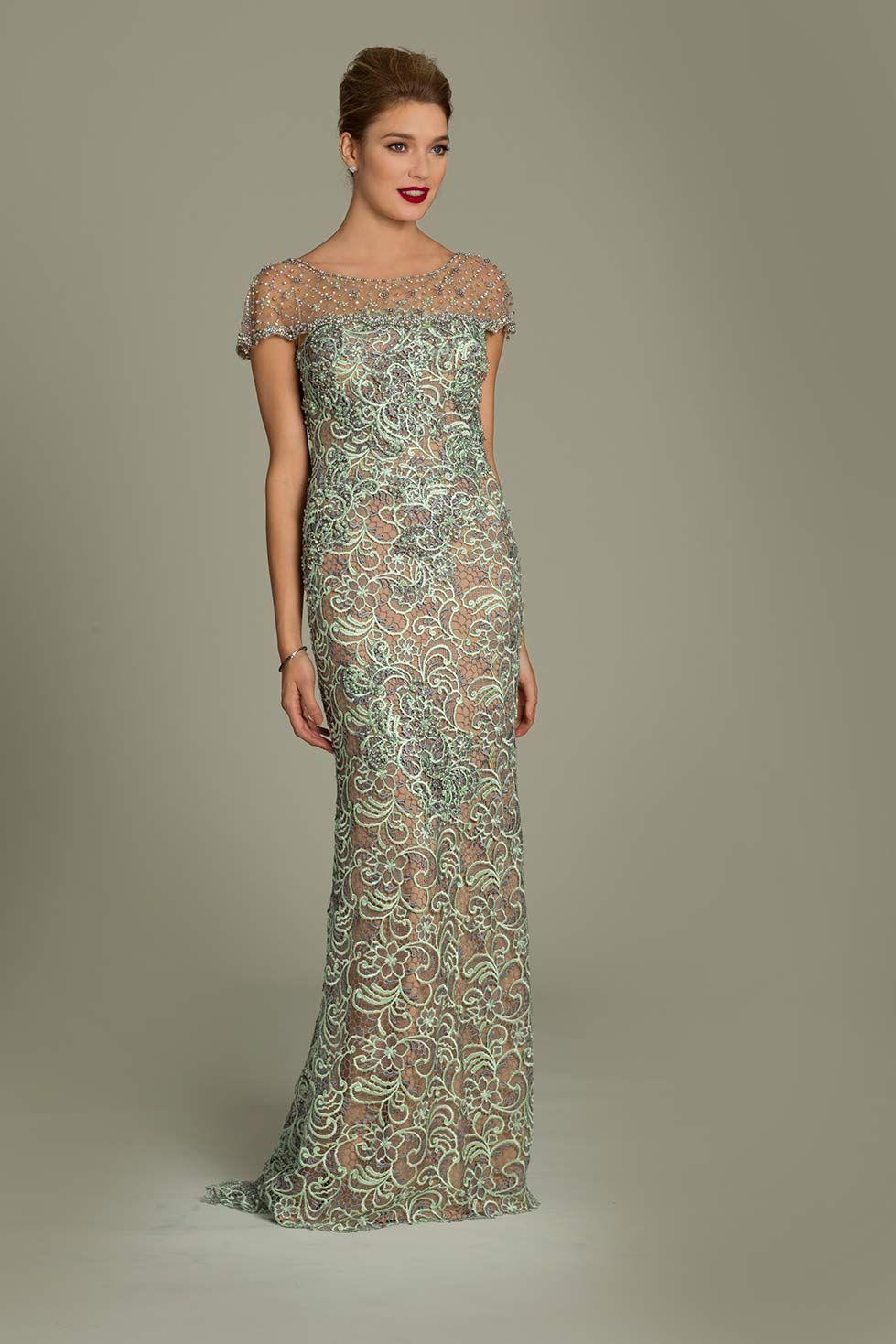e13ad0a0e1 Jovani lace applique gown