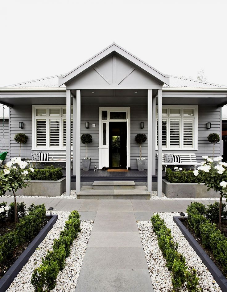 Forclosure Remodel: House Paint Exterior, Facade