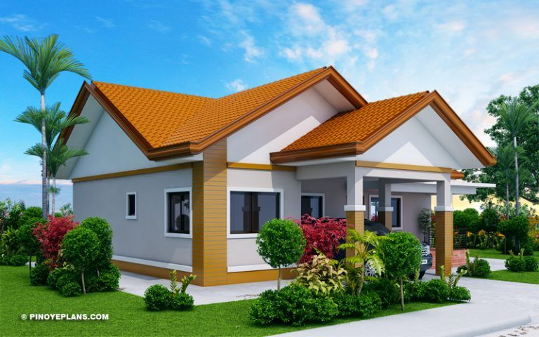 Agustin Spacious Three Bedroom Elevated House Concept Pinoy Eplans House Design Bungalow House Plans Home Design Plans