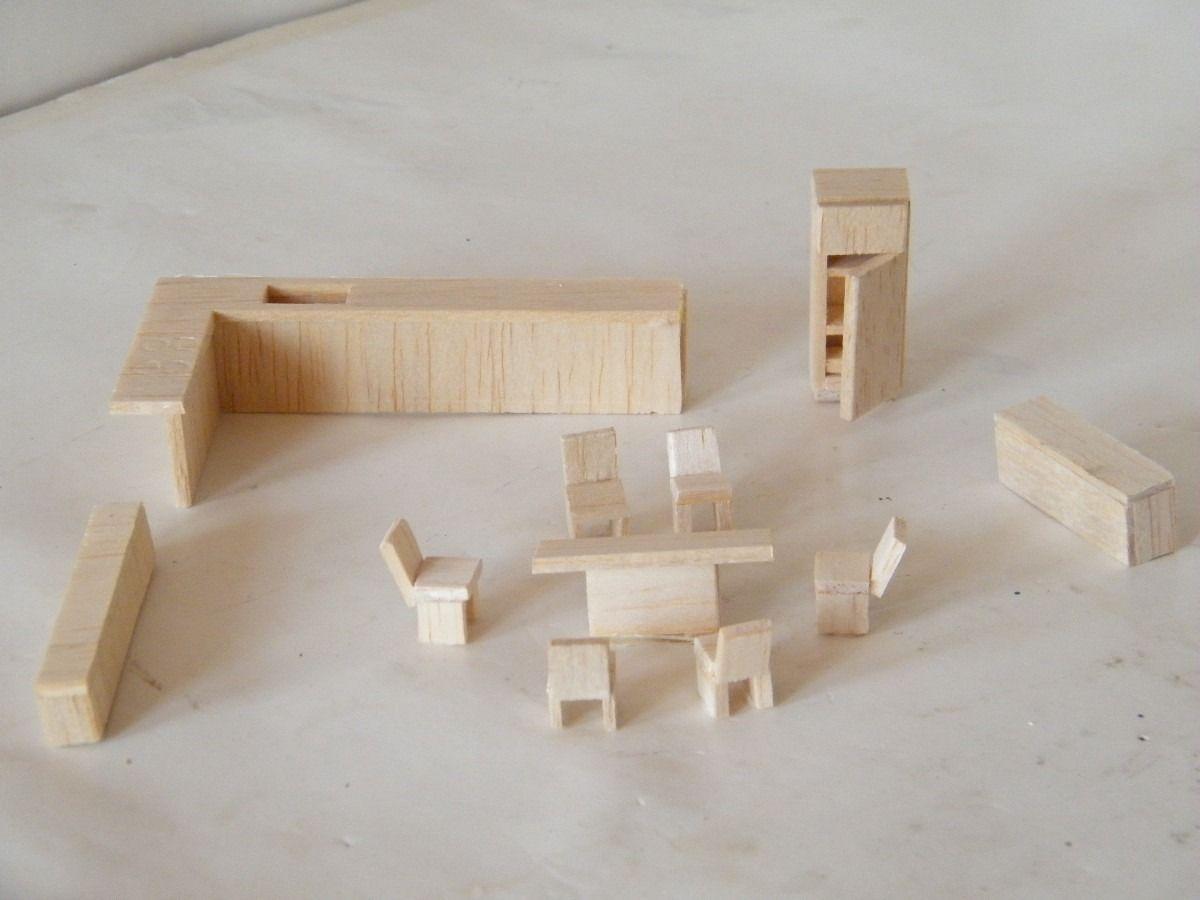 Mobiliario para maqueta mercadolibre m xico maquetas for Mobiliario para planos