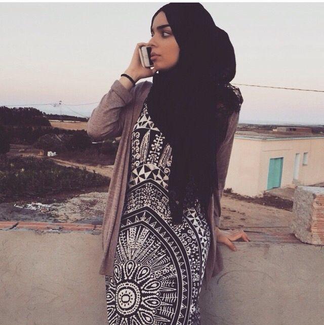 Ornamental printed dress - check out: Esma <3