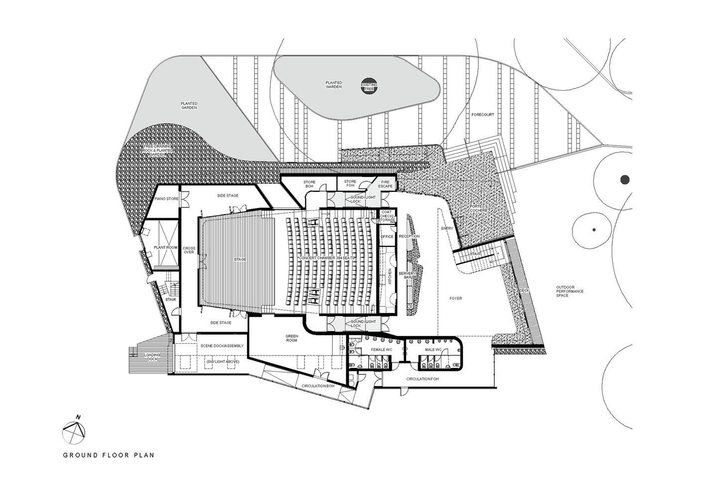 performing arts center design pdf
