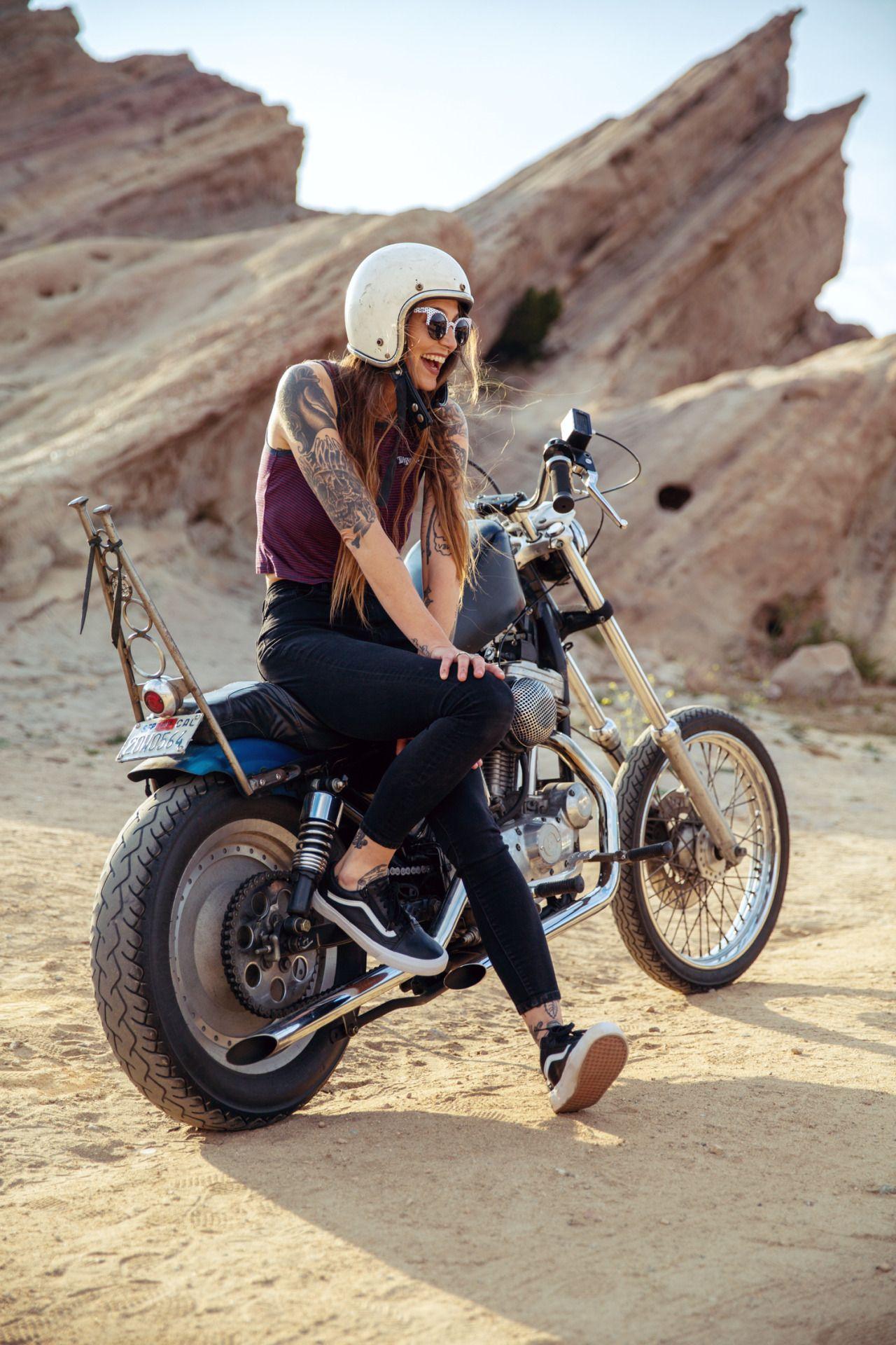 vans biker