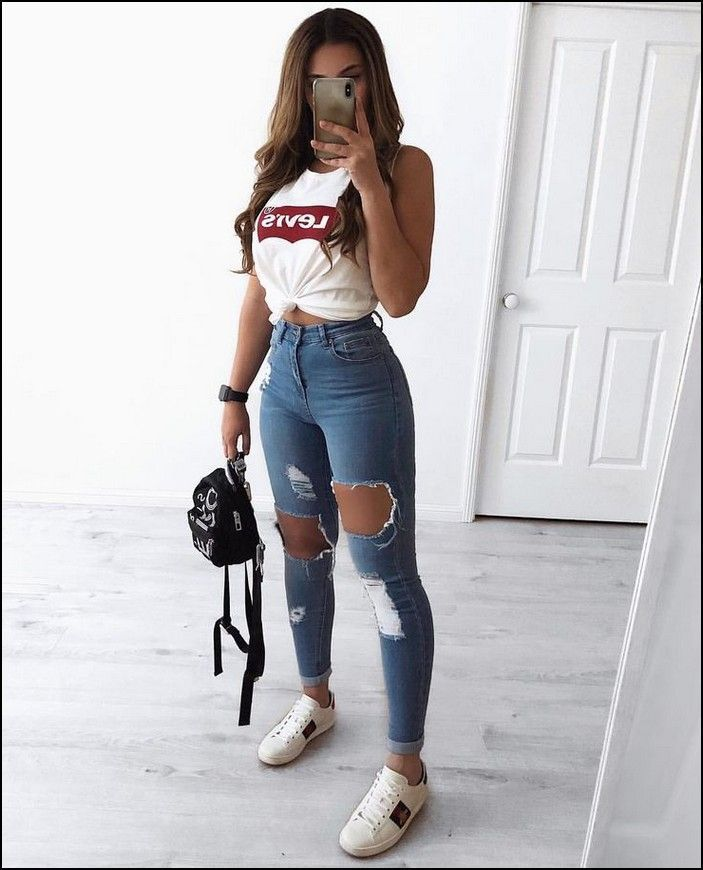 Photo of 129+ cute summer outfits to wear and you have to get dressed as soon as possible – summer fashion ideas
