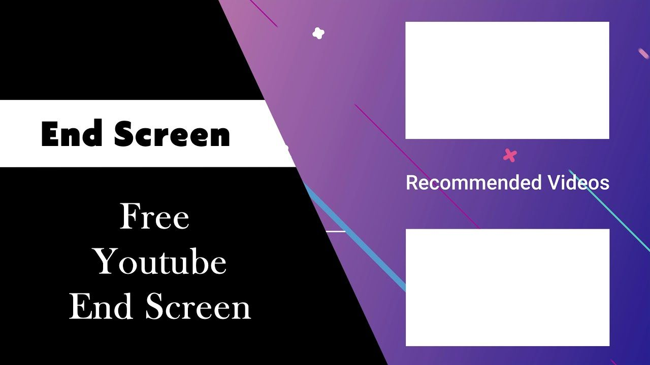 Pin By Ckcreations On End Screen In 2021 Free Youtube Free Templates