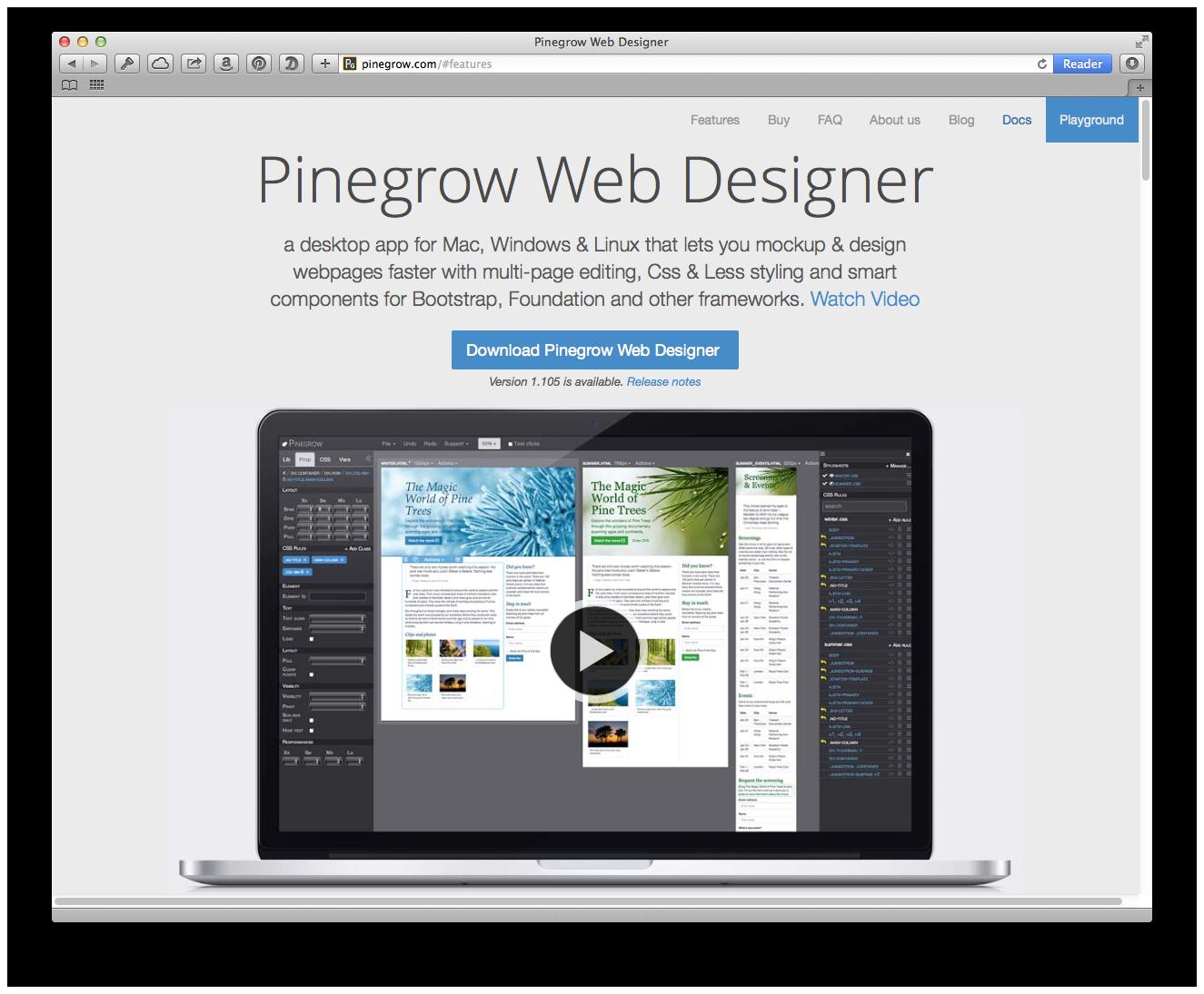 web page designer linux