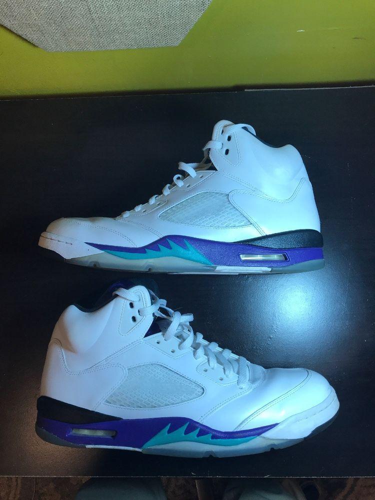 f7b7e2e525c7 Jordan Retro 5 Grape size 14  fashion  clothing  shoes  accessories   mensshoes