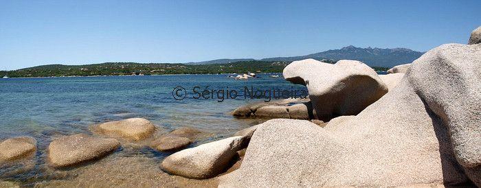 Figari, Corsica (panorama)