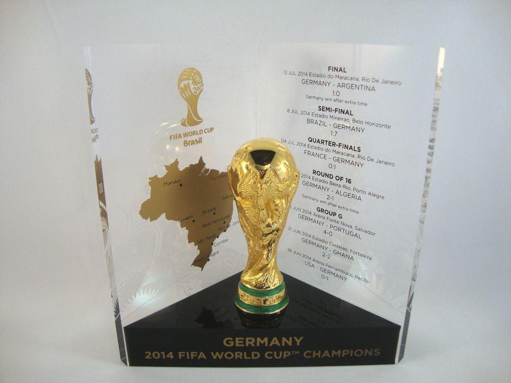Fussball Wm Pokal Weltmeister Deutschland Fifa World Cup 2014