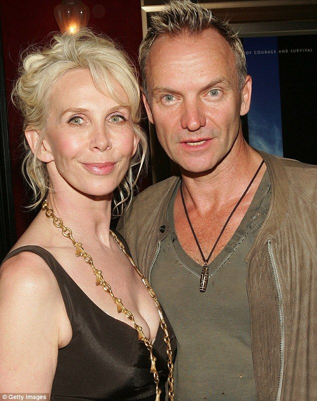 Celebrity couple Sting and Trudie: The decision to rent out their cottages may have been prompted by a new property tax