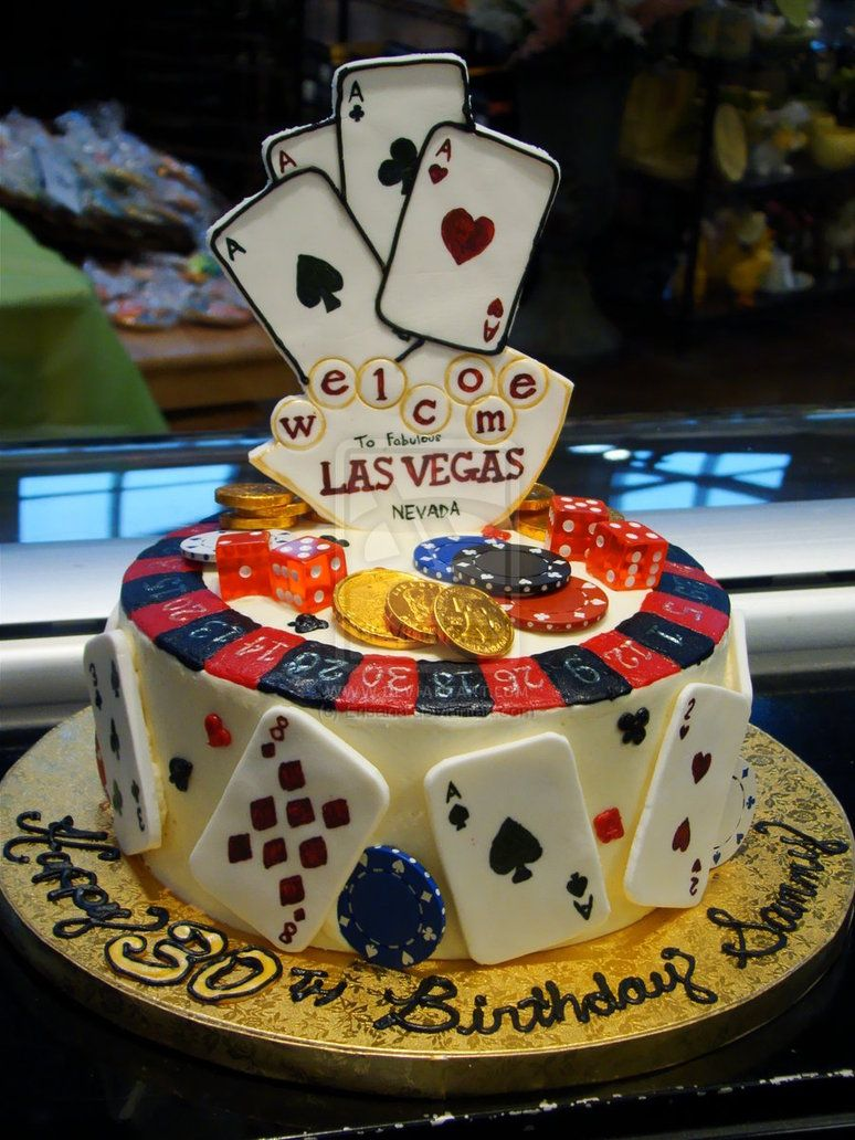 Las Vegas Birthday Cake By Erisana On DeviantART Products I Love