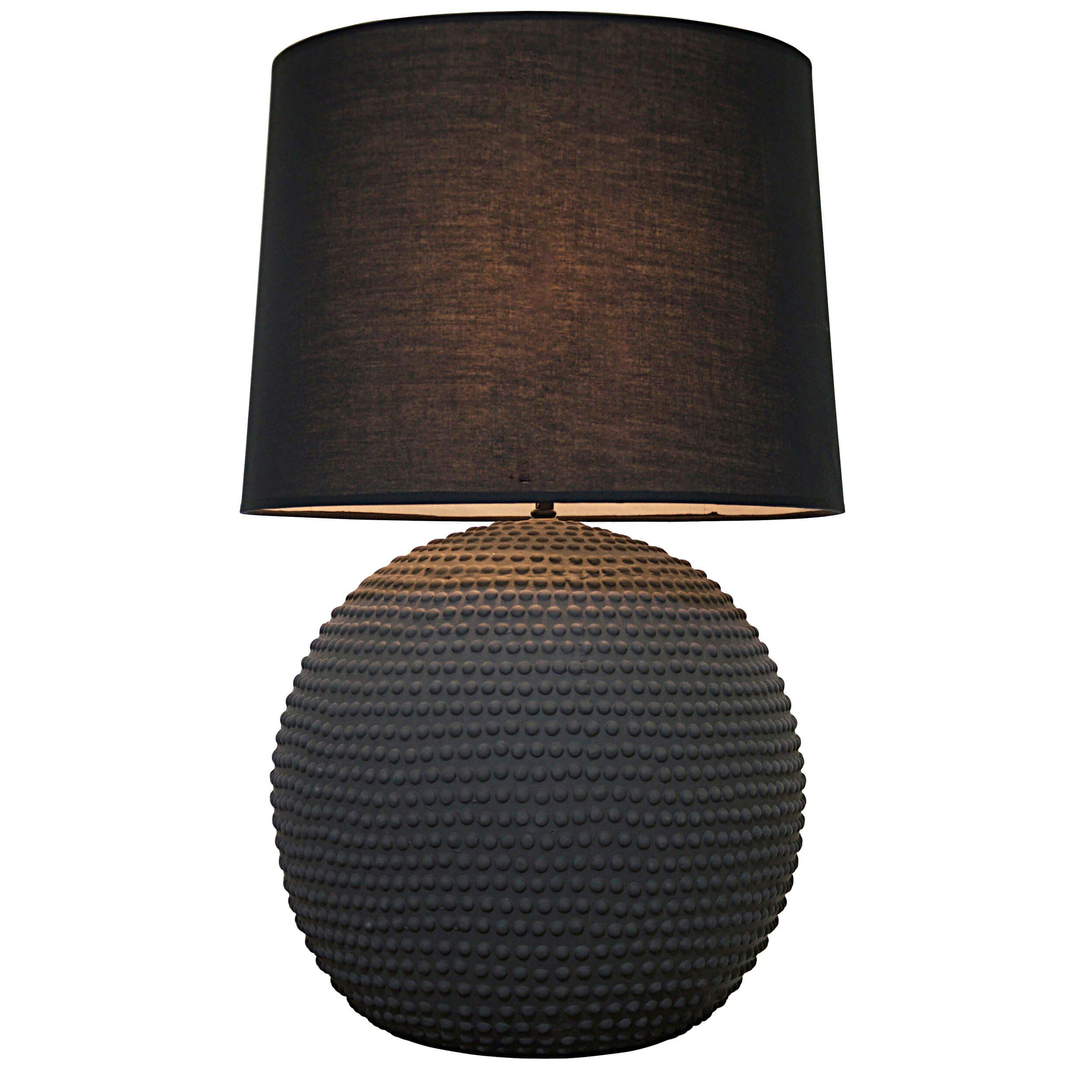 Urchin Table Lamp Large Small Available As Well Made By Noir Sold By High Fashion Home Lamp Table Lamp Black Lamps