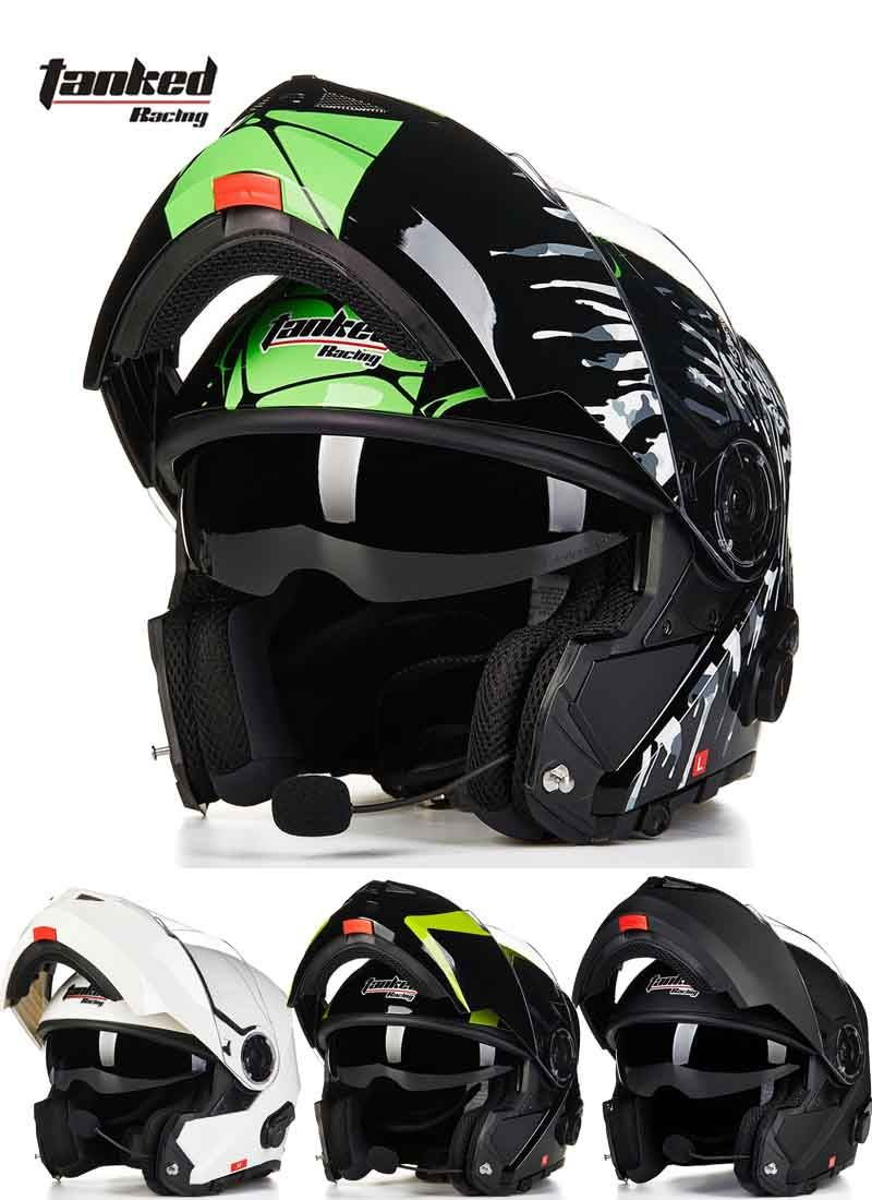 2016 New male Tanked Racing open face motorcycle helmet