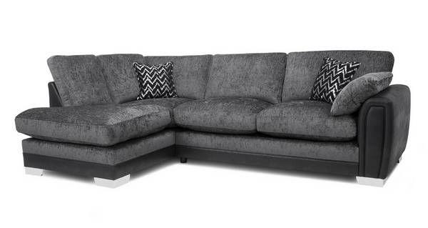 Aviana Formal Back Right Hand Facing 3 Seater Open End Corner Sofa Carrara Corner Sofa Deluxe Sofas Corner Sofa Bed