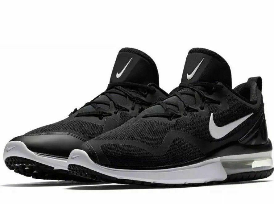 3fe66c0f16faa0 Nike Air Max Fury Mens Running Shoes 11.5 Black White  Nike  RunningShoes