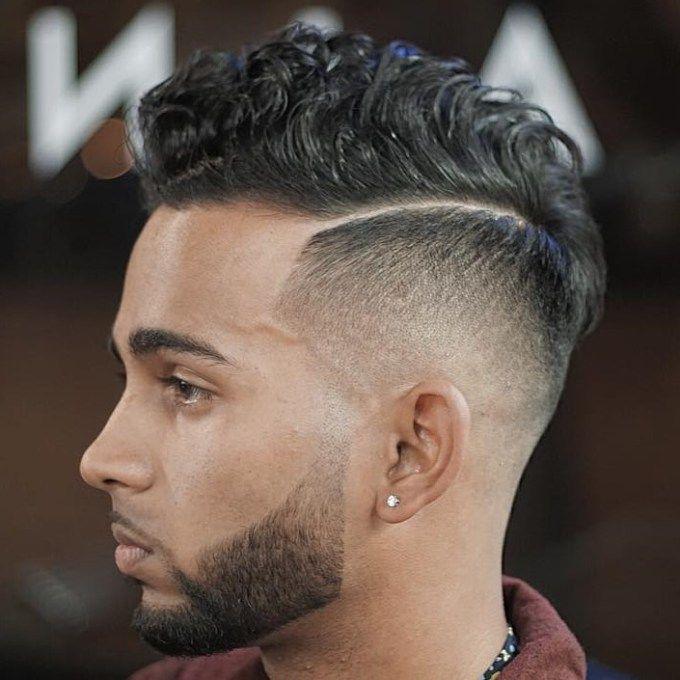 Картинки по запросу how to style wavy hair men New Faux Hawk