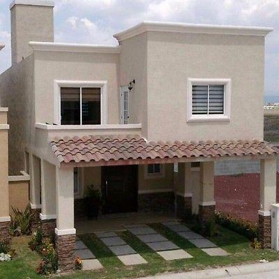 Dise os de casas modernas peque as en 3d casa wau for Fachadas de casas de 2 pisos pequenas