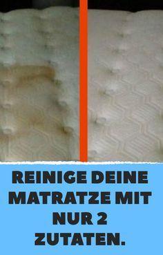 reinige deine matratze mit nur 2 zutaten sauber machen pinterest reinigen matratze und. Black Bedroom Furniture Sets. Home Design Ideas
