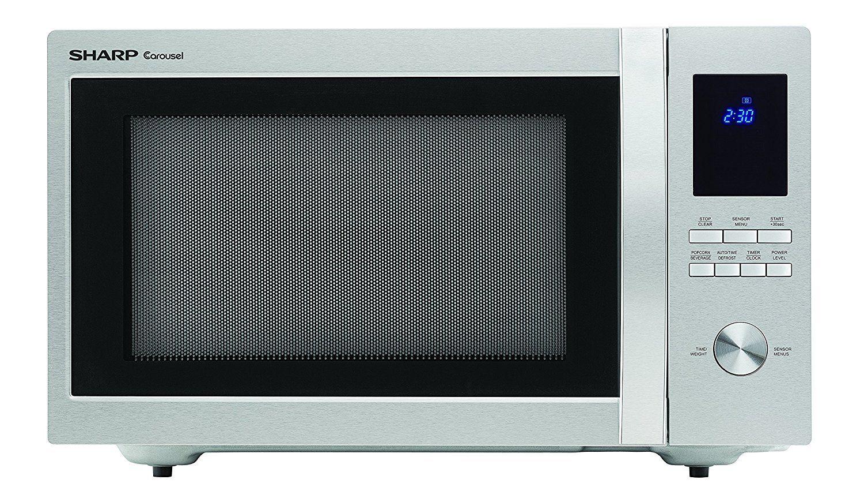 Sharp Microwaves Zsmc1655bs Sharp 1 100w Countertop Microwave Oven