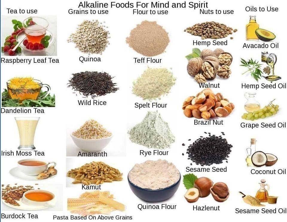 Alkaline foods my alkaline journey following dr sebi