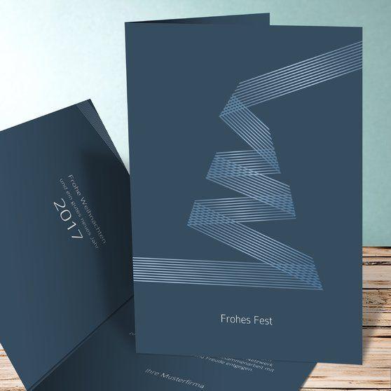 weihnachtsband karte weihnachten karten. Black Bedroom Furniture Sets. Home Design Ideas