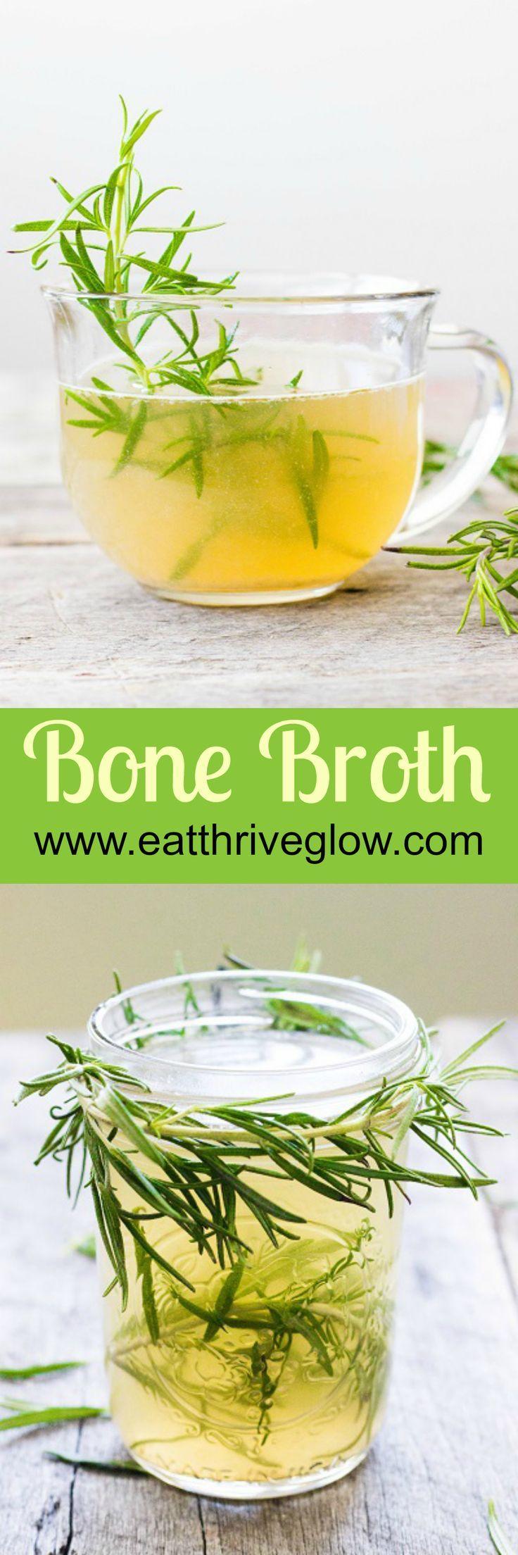 Bone Broth / Homemade Chicken Stock Recipe Bone broth