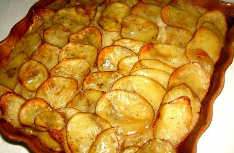 выложил картофель буланжер рецепт с фото вид
