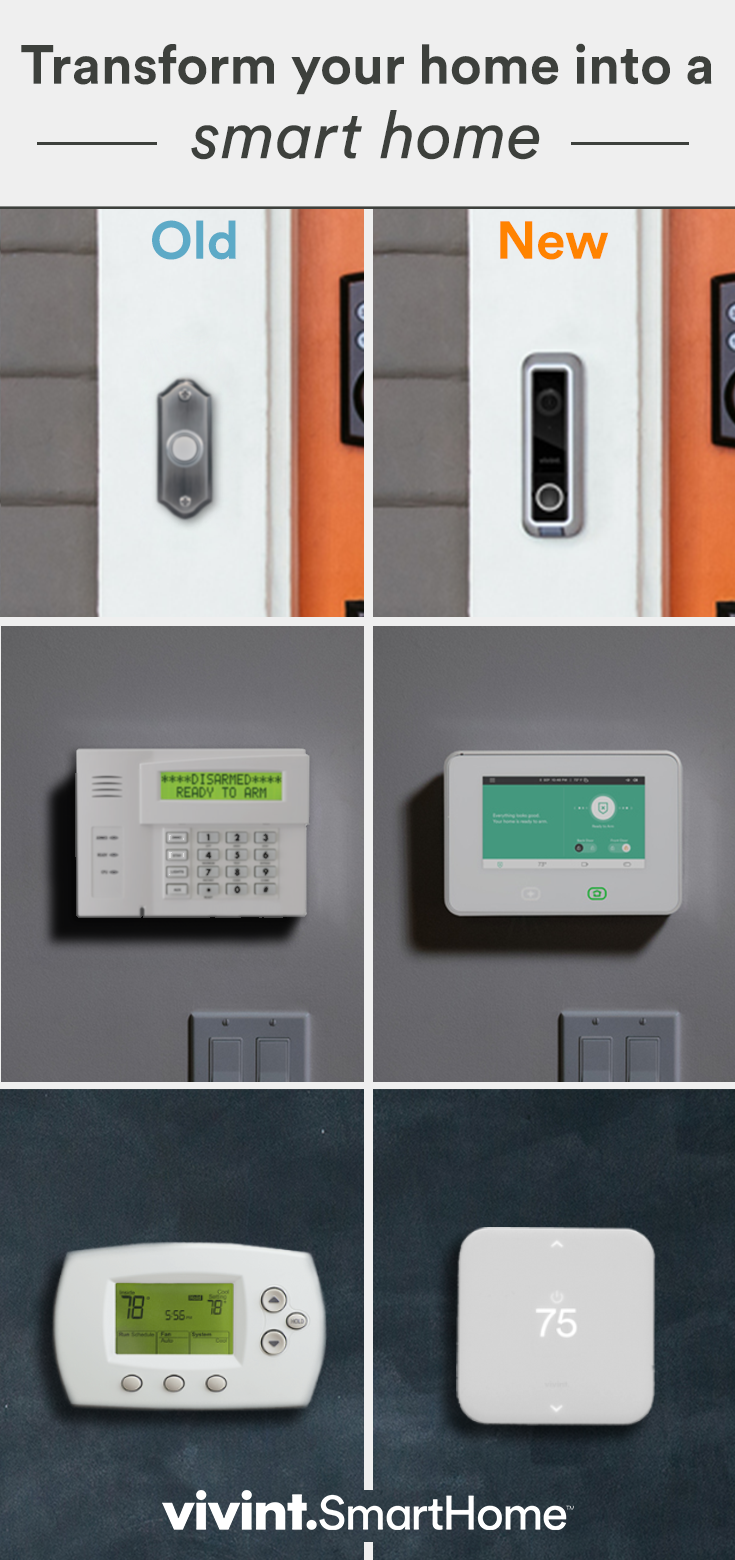 Pin By Matt Gaytan On House Smart Home Vivint Home Automation