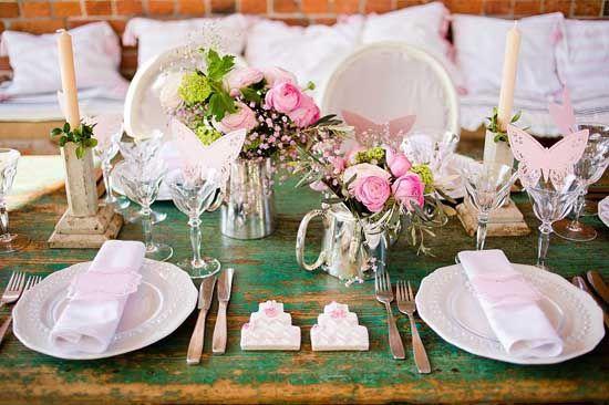 19 tisch dekoration tischdeko zur hochzeit rosa blume hochzeitstafel Hochzeitsfarben Romantisch