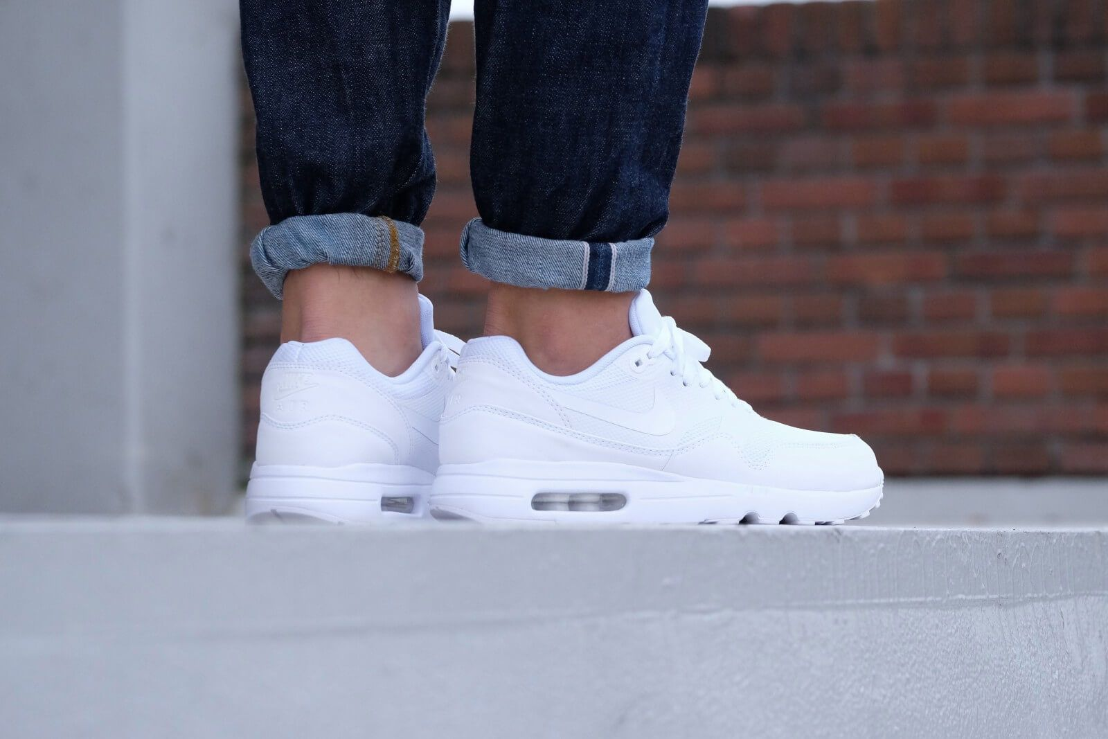 Nike Air Max 1 Ultra 2.0 Essential Whitewhite pure platinum