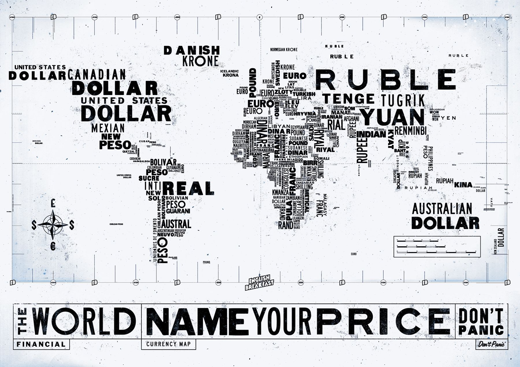 Money Names Of The World Currency Worth