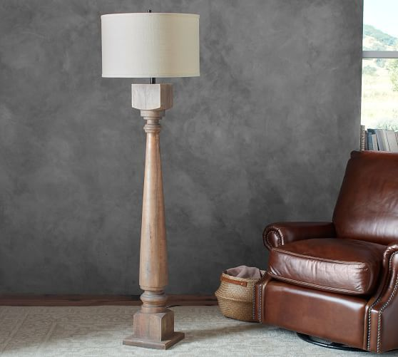 Finn Turned Wood Floor Lamp Base Floor Lamp Base Wood Floor Lamp Table Lamp Wood